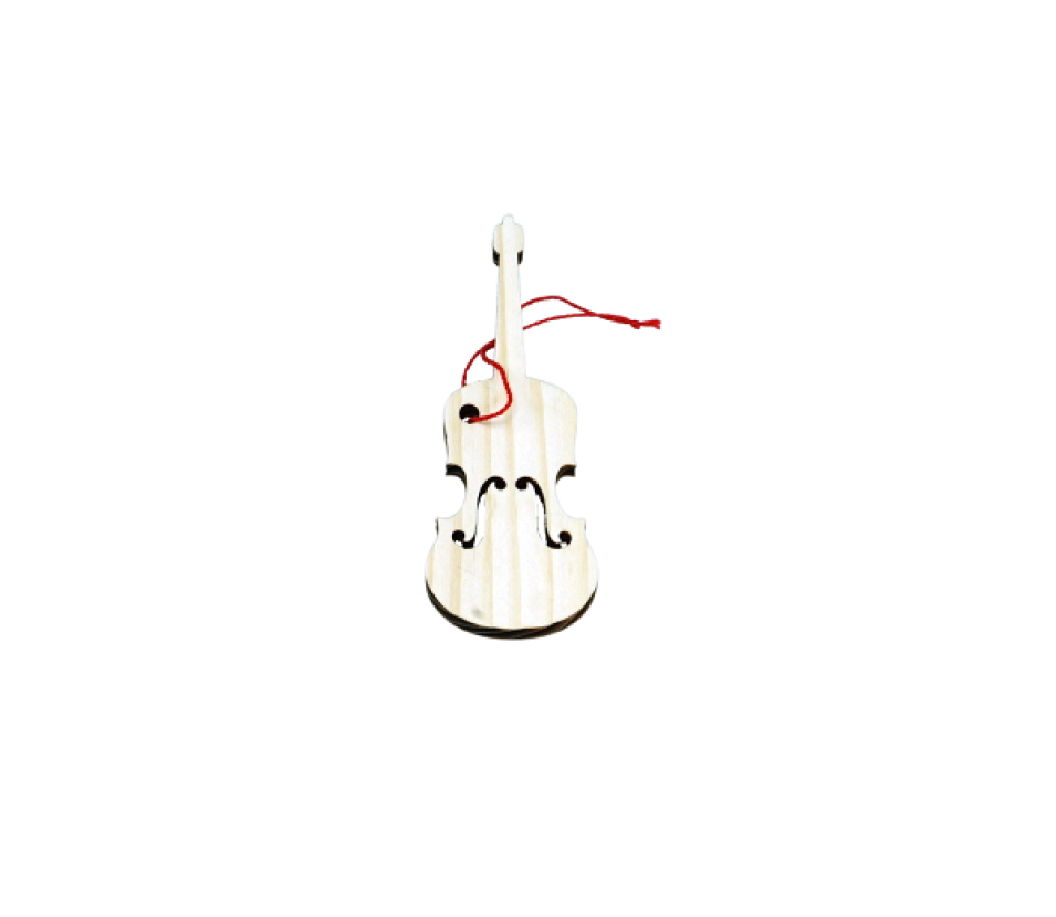 Ozdoby dřevěné housle