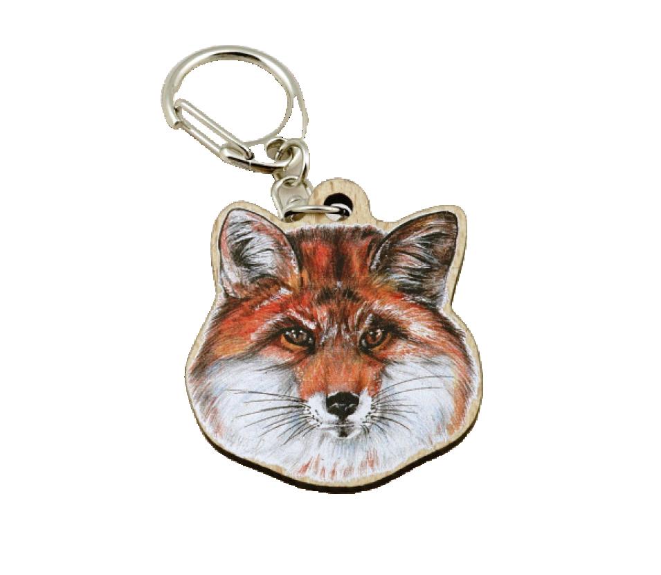 Přívěsek na klíče zvíře liška