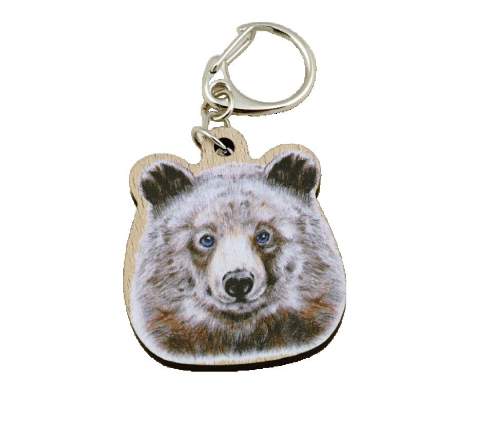 Přívěsek na klíče zvíře medvěd