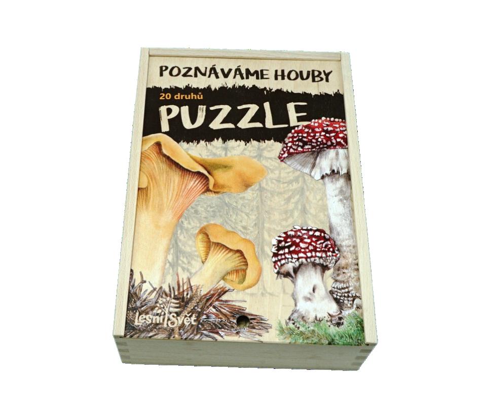 Sada Puzzle - Houby