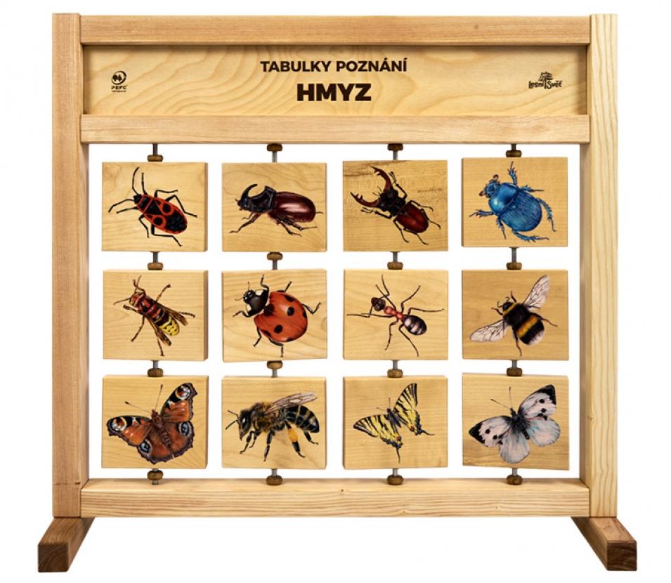 Tabulky poznání stolní - Hmyz