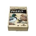 Puzzle Zvířecí rodinky